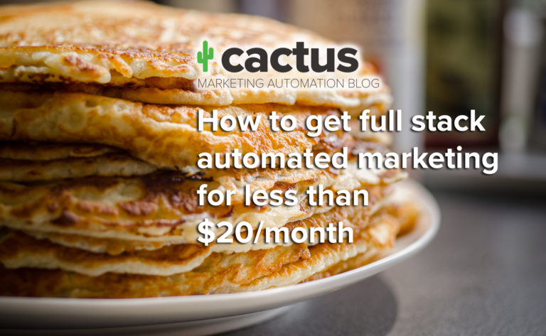 full stack marketing automation