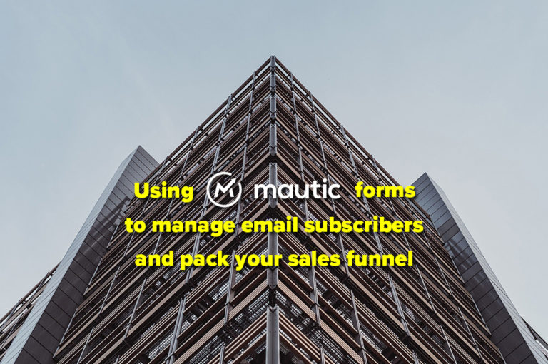 How to set up Mautic forms